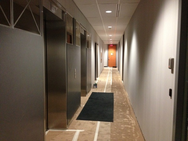 elevator corridor painting services